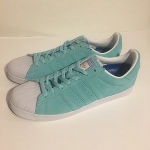 6aa35af9e5be adidas Shoes - Adidas Superstar Vulc ADV Pastel Blue Shoes